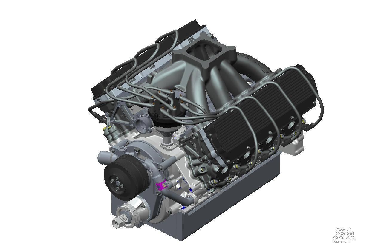 Roush Yates Engines RY45 V8 | Roush Yates Engines