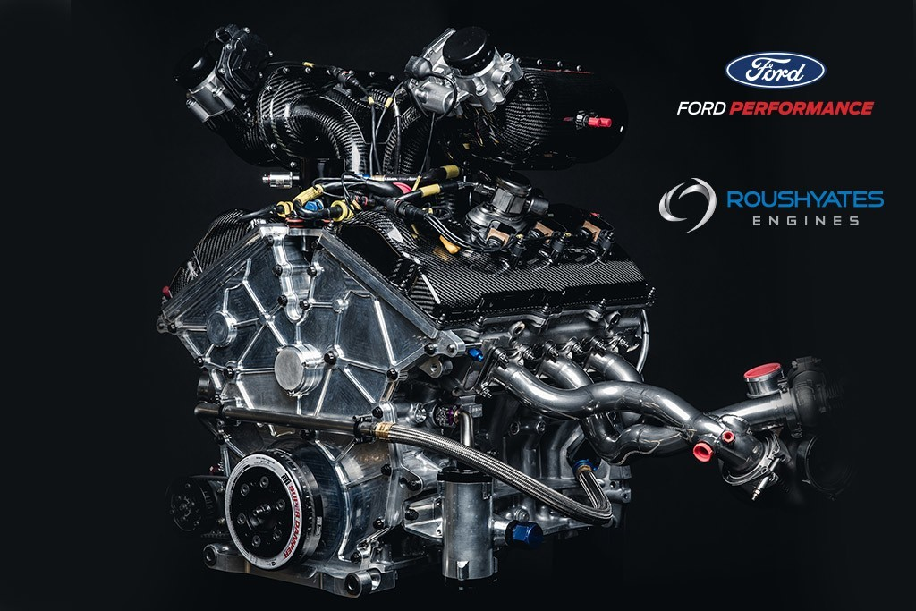The Ford Gt Race Cars Are Powered By Twin Turbo Ford Ecoboost V Engines