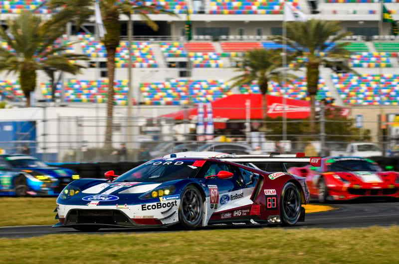 Tune In January Th  For The Rolex  At Daytona As Ford Chip Ganassi Racing Goes For The Back To Back Wins In This