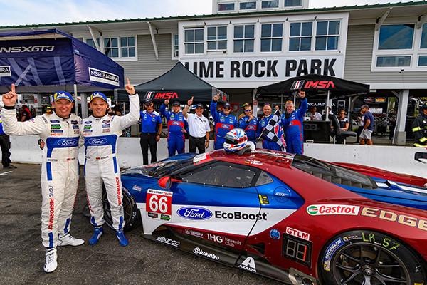 Lime Rock Ct July   Ford Chip Ganassi Racing Won Their Third Straight Imsa Weathertech Sportscar Championship C Race Of The Season